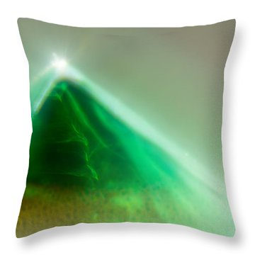 Throw Pillow featuring the photograph Pyramid by Greg Collins