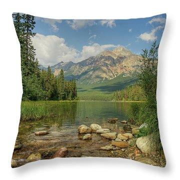 Pyramid Mountain Throw Pillow