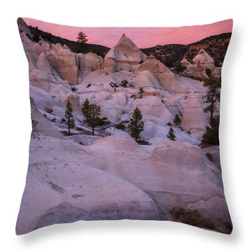 Throw Pillow featuring the photograph Pyramids  by Dustin LeFevre