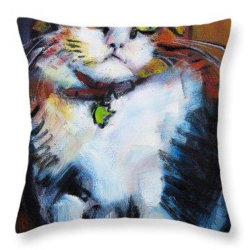 Pywacket Throw Pillow