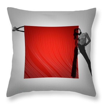 Quad Throw Pillow