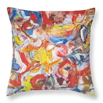 Qualia Throw Pillow