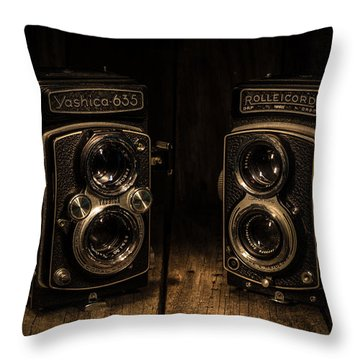 Throw Pillow featuring the photograph Quality by Keith Hawley