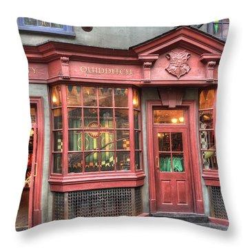 Quality Quidditch Supplies Throw Pillow