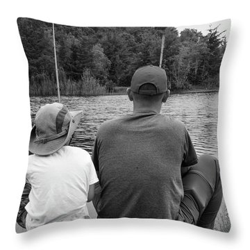 Quality Time... Throw Pillow