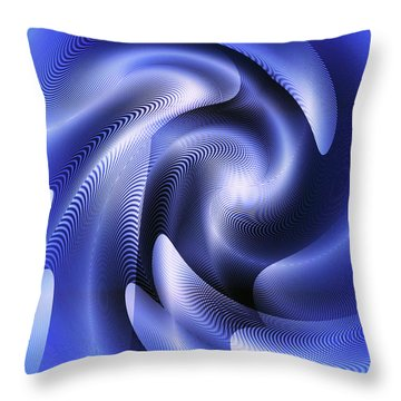Quarter Moon Throw Pillow