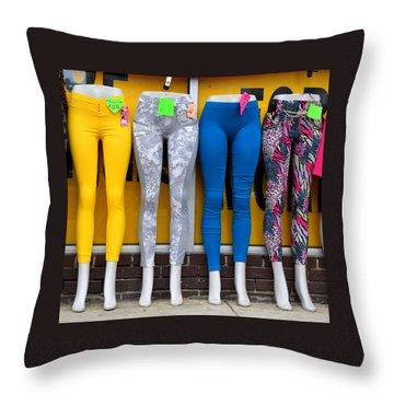 Quartet Throw Pillow by David Gilbert