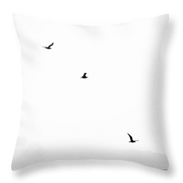 Sea Bird Throw Pillows