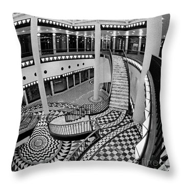 East Berlin Analog Sound Throw Pillow