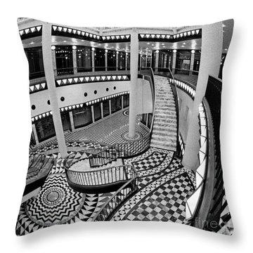 Quartier 206 In Berlin East Throw Pillow