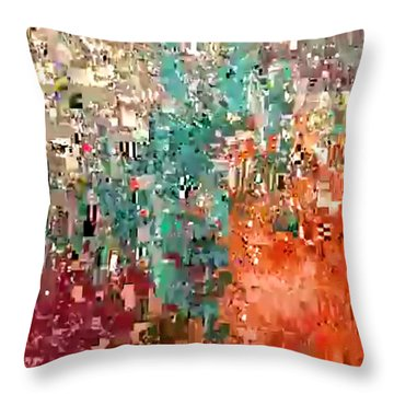 Quartz 508 Throw Pillow