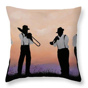 Musical Instrument Throw Pillows