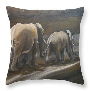 Que Sera Sera Throw Pillow