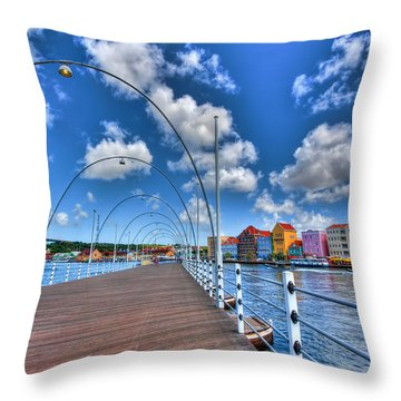 Queen Emma Bridge Throw Pillow