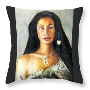 Queen Gassulawiya  Throw Pillow