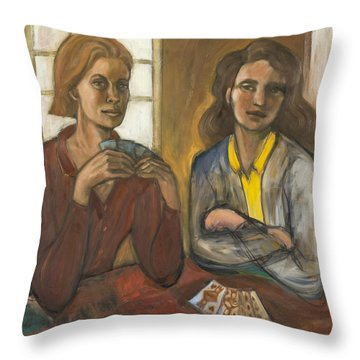 Queen High Throw Pillow