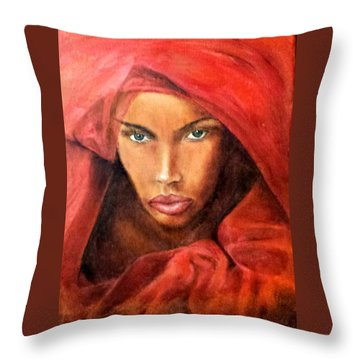 Queen No.10 Throw Pillow by G Cuffia