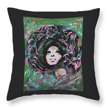 Queen Of Queens Throw Pillow