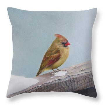 Queen Of State Throw Pillow
