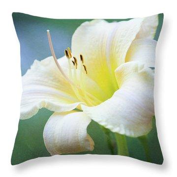 Queen Of The Garden Throw Pillow