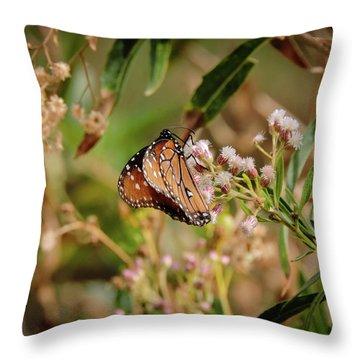 Queen Of The Hassayampa Throw Pillow