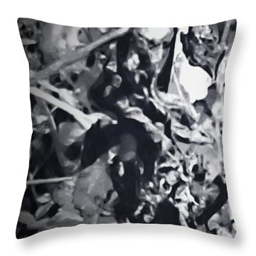 Queen Of Throne Throw Pillow by Gina O'Brien