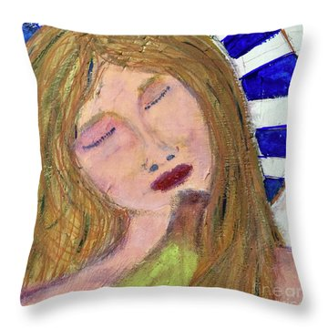 Queen Serene Throw Pillow