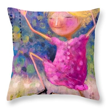 Queens Should Dance Throw Pillow by Eleatta Diver