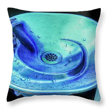 Quenched Throw Pillow by Paul Wear