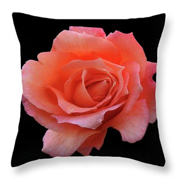 Throw Pillow featuring the photograph Querida by Mark Blauhoefer