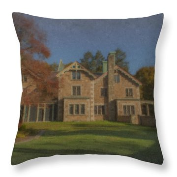 Quest House Garden Throw Pillow