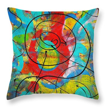 Question Throw Pillow
