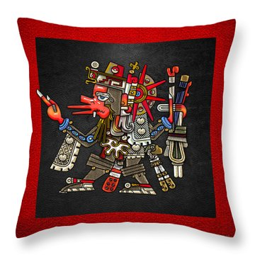 Quetzalcoatl - Codex Borgia Throw Pillow