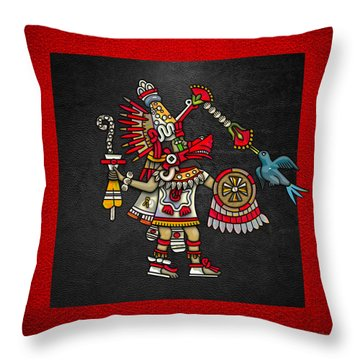 Quetzalcoatl - Codex Magliabechiano Throw Pillow