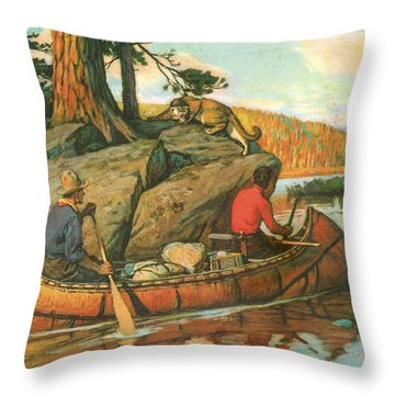 Quick Action Throw Pillow