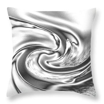 Quicksilver Eddy Throw Pillow