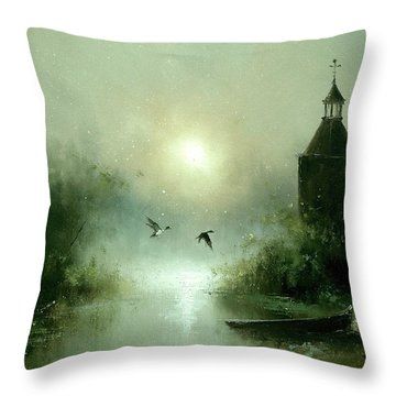 Quiet Abode Throw Pillow