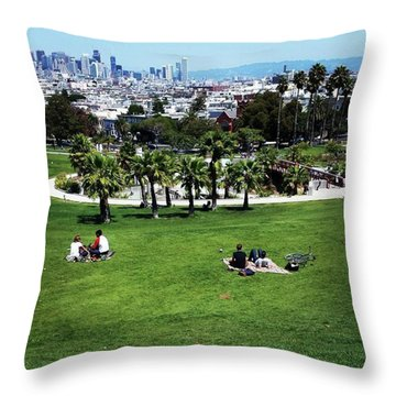 Throw Pillow featuring the photograph Quiet At #doloresgaybeach by Mr Photojimsf