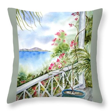 Quiet Corner Throw Pillow
