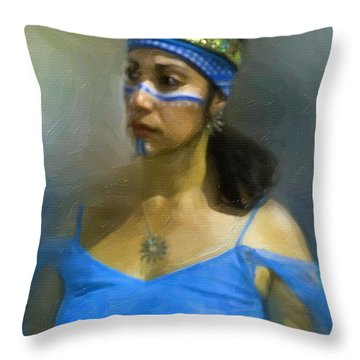 Quiet Dignity Throw Pillow