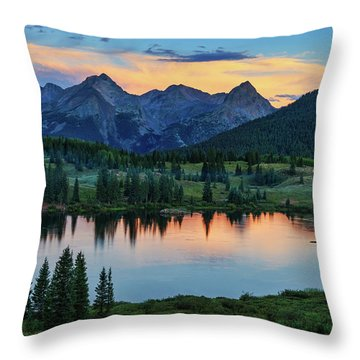 Throw Pillow featuring the photograph Quiet In The San Juans by Rick Furmanek