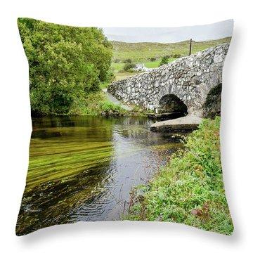 Quiet Man Bridge Throw Pillow
