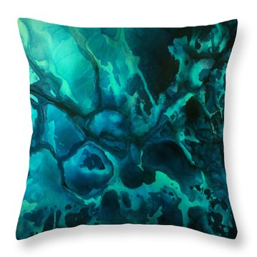 'quiet' Throw Pillow by Michael Lang