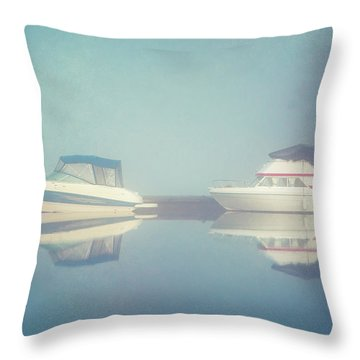Throw Pillow featuring the photograph Quiet Morning by Ari Salmela