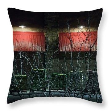 Quiet Night - Throw Pillow
