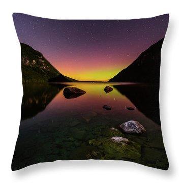 Quiet Reflection Throw Pillow