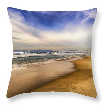 Quiet Reflections Of Hermosa Throw Pillow