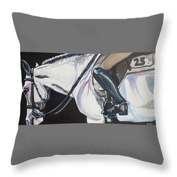 Quiet Ride Throw Pillow