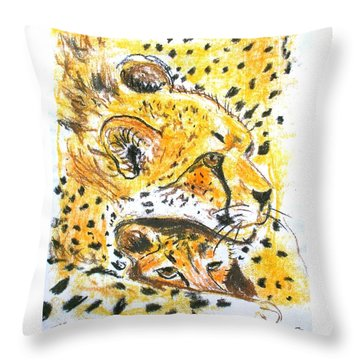 Quiet Spot Throw Pillow