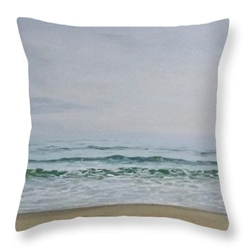 Quiet Winter Day Throw Pillow